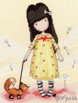 Pretend Friend - Gorjuss Cross Stitch - Bothy Threads