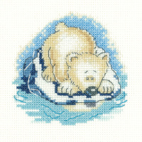 Paula Bear - Simply Heritage Cross Stitch