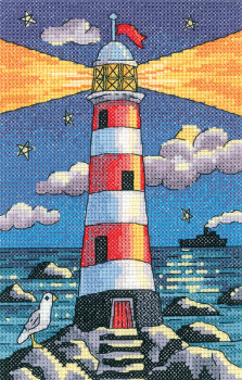 Lighthouse by Night - Heritage Crafts