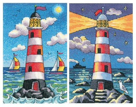 Lighthouse Set - Day & Night - Heritage Crafts