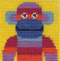 Mini Monkey Tapestry