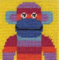 Mini Monkey Tapestry