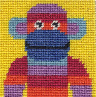 Mini Monkey Tapestry Kit - Beginners
