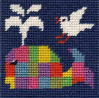 Mini Whale Tapestry