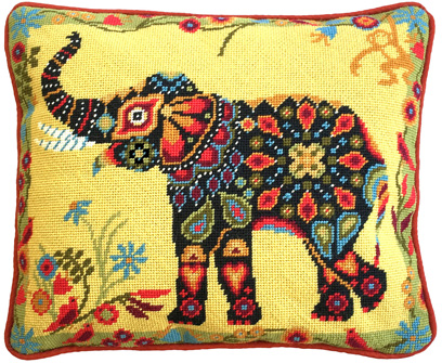 Painted Elephant Tapestry Kit