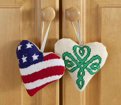Tapestry Hearts Usa and Celtic - Cleopatras Needle
