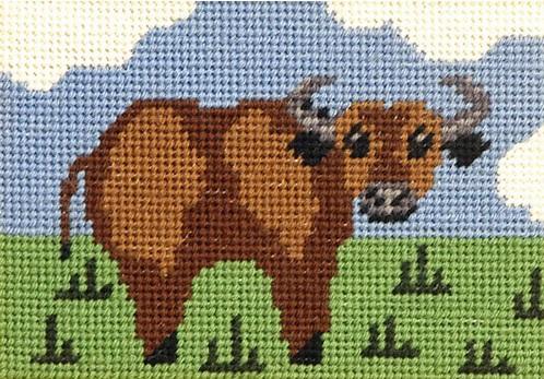 Bertie Buffalo Beginners Tapestry