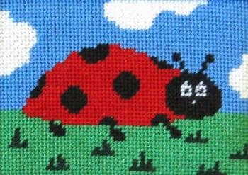 Lara Ladybird Beginners Tapestry