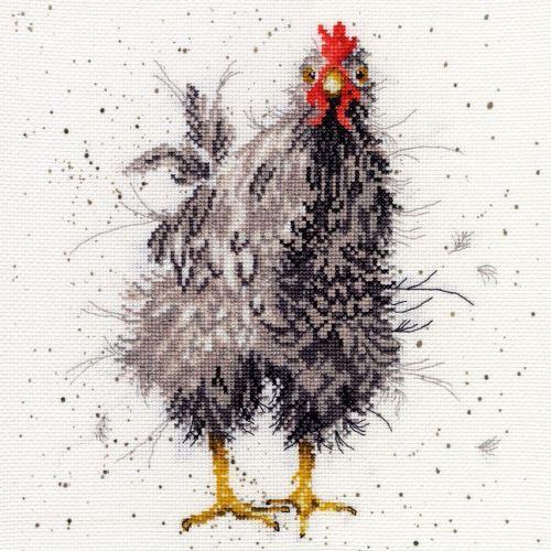 Curious Hen - Hannah Dale Cross Stitch Kit