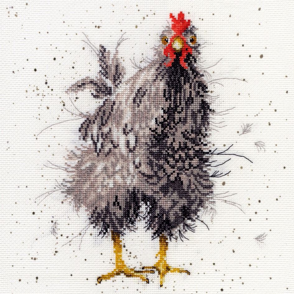 Curious Hen - Hannah Dale Cross Stitch Kit