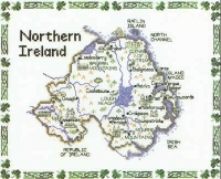 Northern Ireland - Map Cross Stitch CHART ONLY