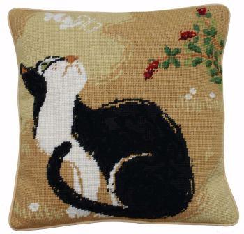 Oriental Cat Tapestry Kit