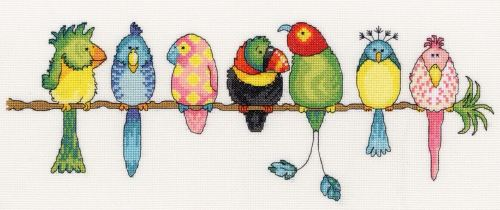 Exotic Birds - Bothy Threads Cross Stitch