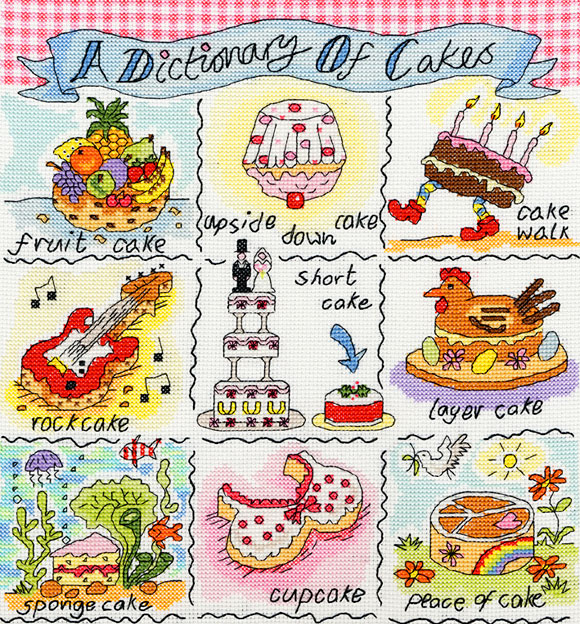A Dictionary of Cakes - Bothy Threads