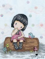 Bluebird's Proposal - Gorjuss Cross Stitch