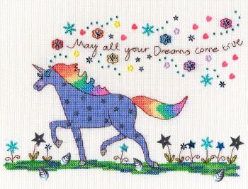 Love Dreams Unicorn Cross Stitch