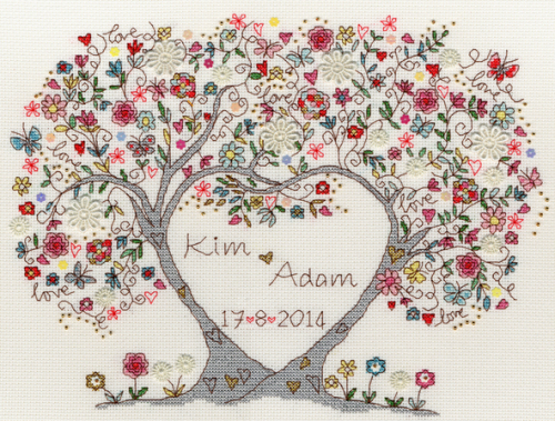 Love Blossoms Sampler - Bothy Threads Cross Stitch