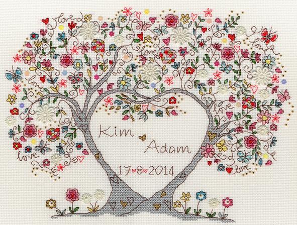 Love Blossoms Sampler - Bothy Threads Cross Stitch