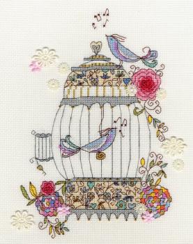 Love Birds Cross Stitch - Bothy Threads