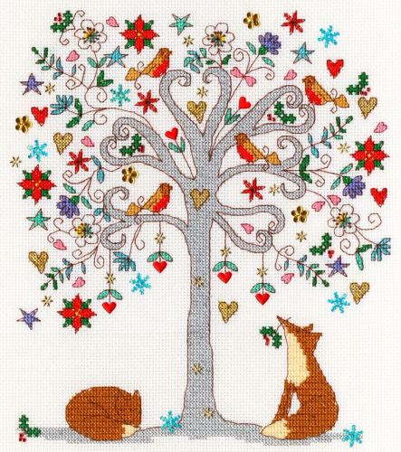 Love Winter Cross Stitch - Bothy Threads