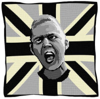 Urban Eric (Mono) - Union Jack Tapestry