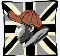 Urban Darren (Mono) - Union Jack Tapestry
