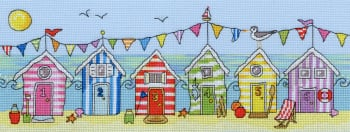 Beach Hut Fun - Bothy Threads