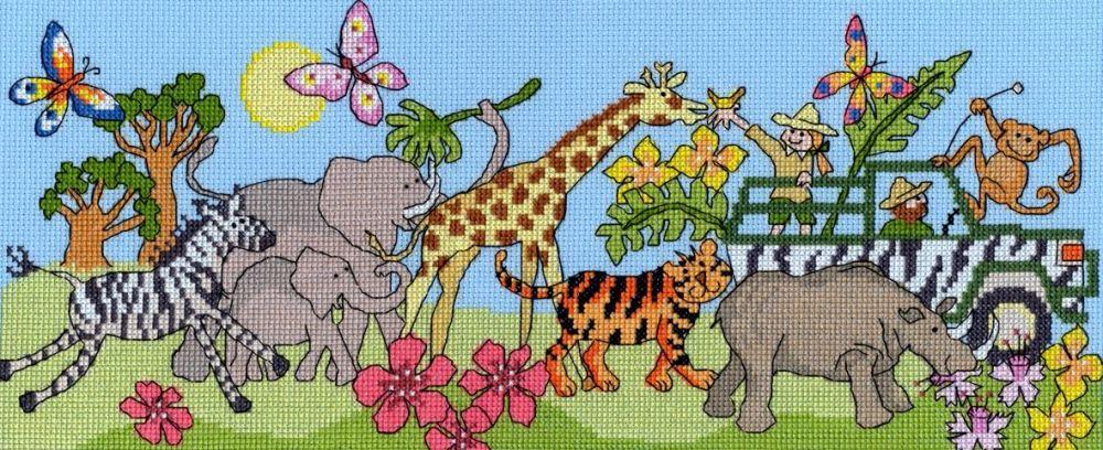 Safari Fun - Bothy Threads Cross Stitch