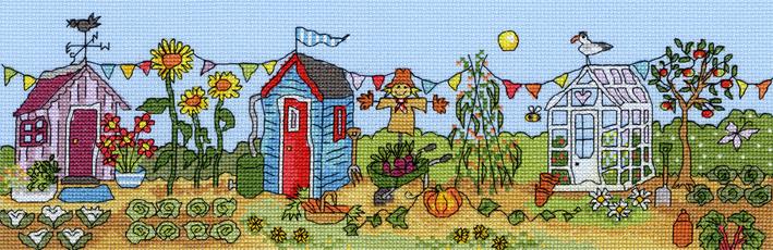 Allotment Fun - Bothy Threads Cross Stitch