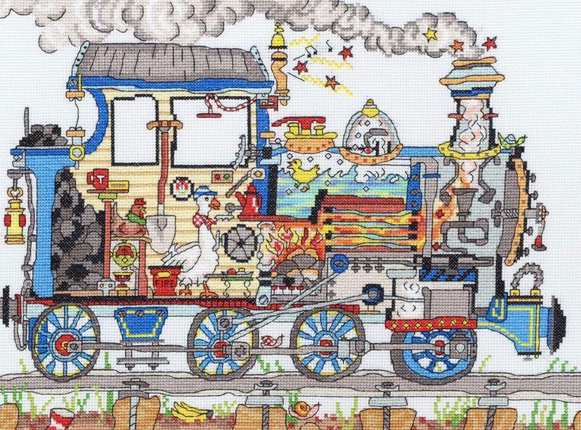 Steam Train - Bothy Threads Cut Thru'