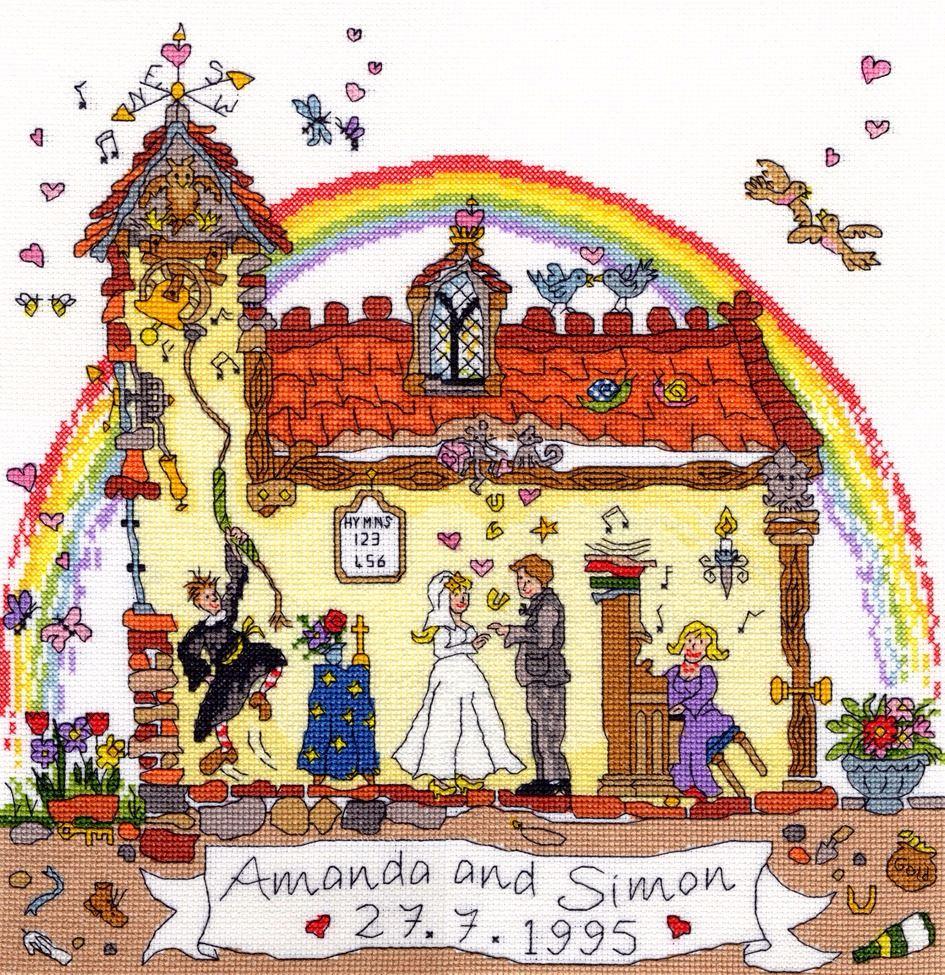 Wedding Sampler - Bothy Threads Cut Thru'