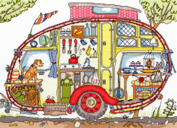 Vintage Caravan - Bothy Threads Cut Thru'