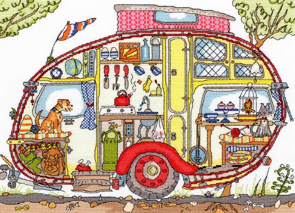 Vintage Caravan - Bothy Threads Cut Thru'
