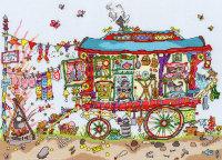Gypsy Wagon - Bothy Threads Cut Thru'