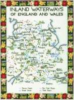 Inland Waterways (England and Wales) Cross Stitch Kit