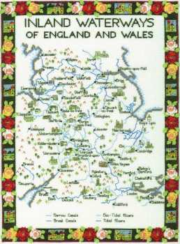 Inland Waterways (England and Wales) Cross Stitch Kit