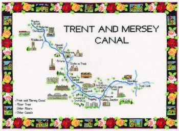 Trent & Mersey Canal Cross CHART ONLY
