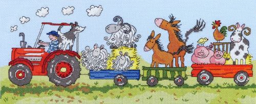 Old Macdonald Cross Stitch Kit - Bothy Threads