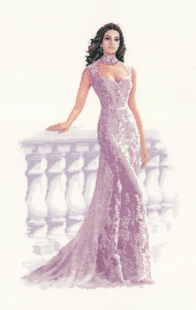 Francesca - John Clayton Cross Stitch - Elegance