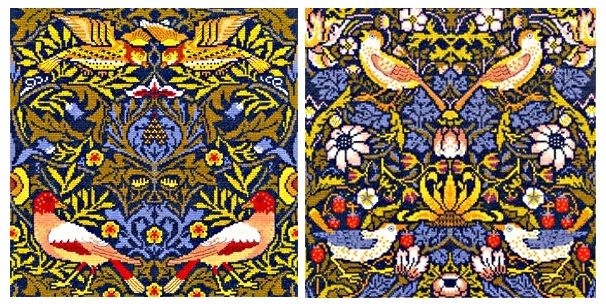 Set of 2 Bothy Threads - William Morris Designs