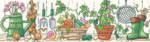 Potting Shed - Heritage Crafts Cross Stitch Kit (Karen Carter)