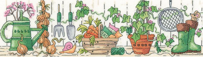 Potting Shed - Heritage Crafts Cross Stitch Kit (Karen Carter)