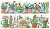 Herb Garden & Potting Shed Set