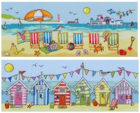 Deck Chair and Beach Hut Fun - Bothy Threads