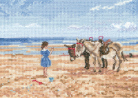Sharing the Treat - Memories Cross Stitch