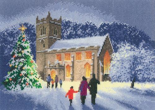 Christmas Church Cross Stitch - John Clayton