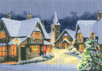 Christmas Village - John Clayton Cross Stitch