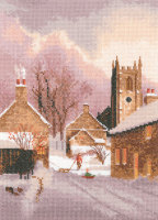 Snowy Village - John Clayton Cross Stitch
