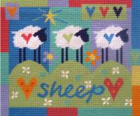 Three Sheep Tapestry Kit
