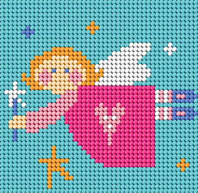 Angel - Starter Tapestry Kit